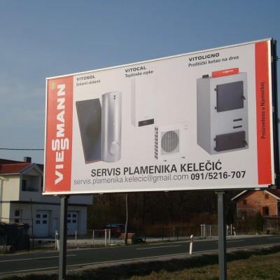 Viessman reklamni pano digitalni tisak