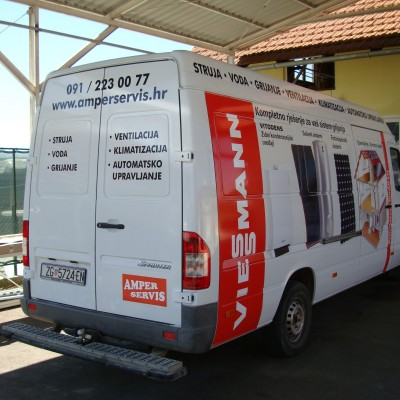 Viessman oslikavanje vozila digitalni tisak