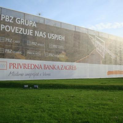 Reklamni mesh XXL fomata - PBZ Buzin