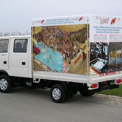 Digitalni tisak na ceradi za kamion